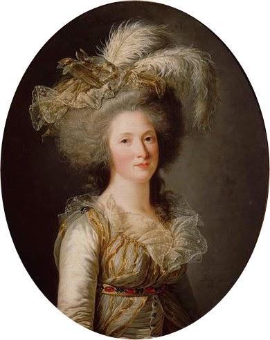 Madame Élisabeth by Adélaïde Labille-Guiard, 1788