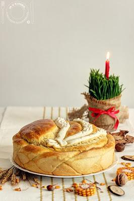 Božićna pogača - česnica