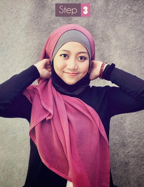 Hallo sobat anda belum sanggup menggunakan jilbab atau anda ingin berguru menggunakan jilbab yang se Cara Praktis Memakai Jilbab Modern Terbaru