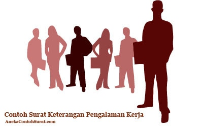 Contoh Surat Keterangan Pengalaman Kerja