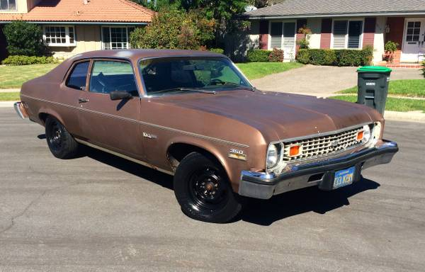 1973 chevy nova v8 for sale buy american muscle car. Black Bedroom Furniture Sets. Home Design Ideas