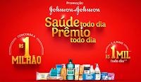 Promoção Johnson & Johnson Saúde todo dia Prêmio todo dia promocaojjbrasil.com.br