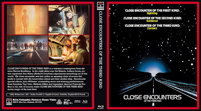 Close Encounters Of The Third Kind Bluray Cover