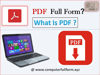 Pdf Full Form | What Is Pdf - Information About Pdf Format In Simple Way