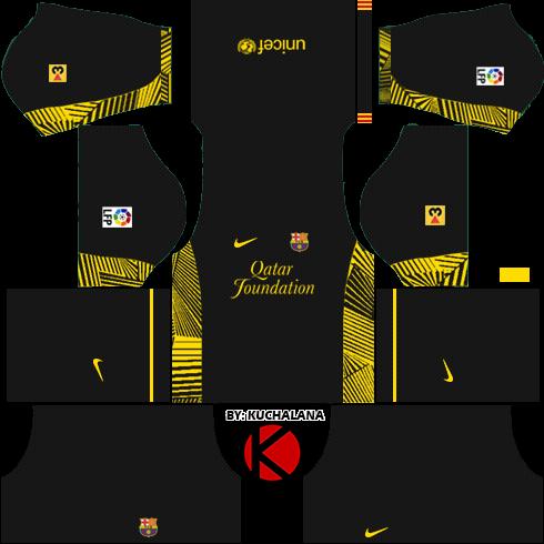 523a811355e Barcelona Kits 2011/2012 - Dream League Soccer Kits - Kuchalana
