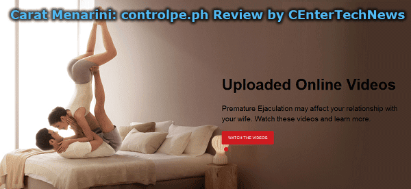 Carat Menarini:controlpe.ph Review by CEnterTechNews