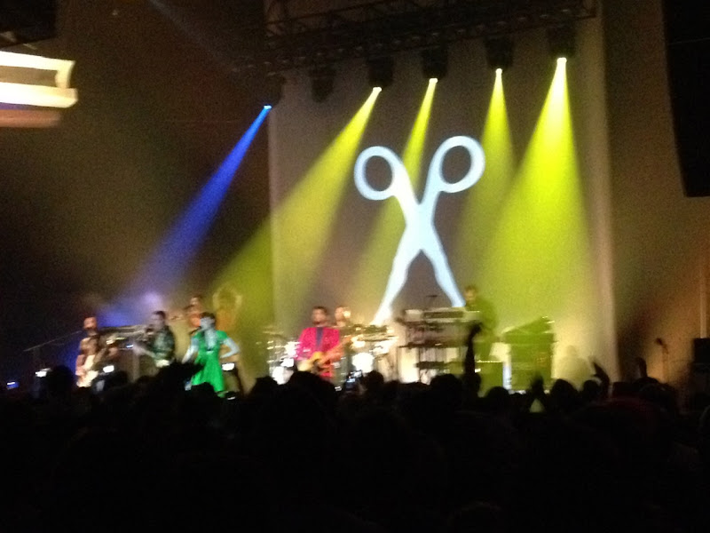 Scissor Sisters concert Hollywood Palladium