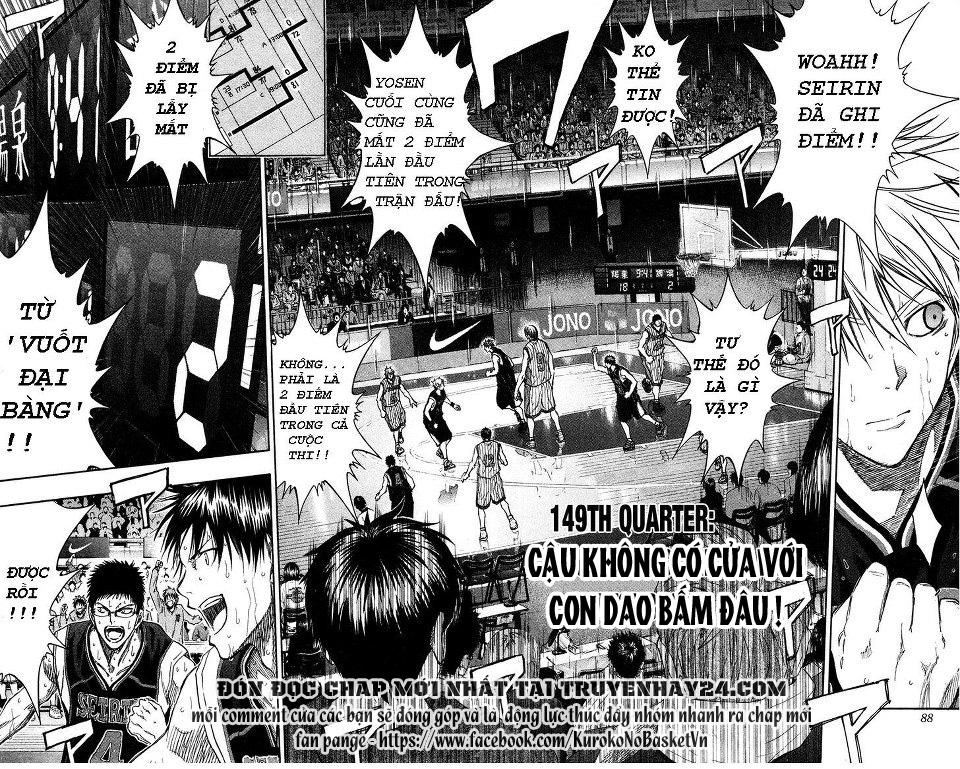 Kuroko No Basket chap 149 trang 2