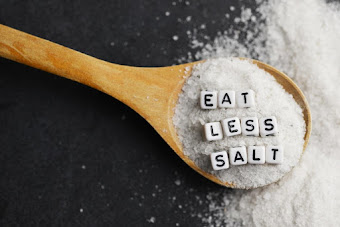 Low-sodium diet for weight loss