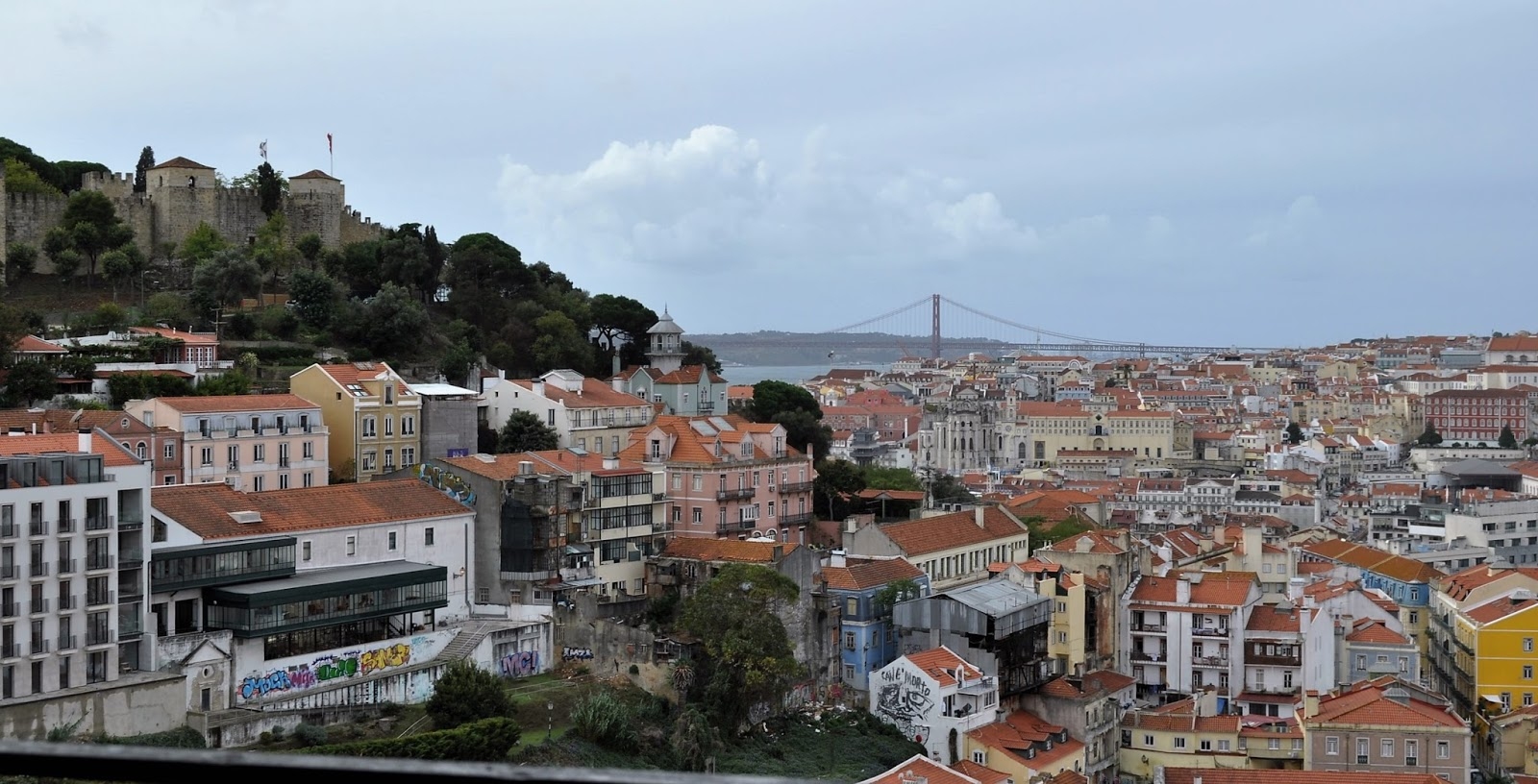 View of Lisbon with Castle of Saint George, 8 Great Discoveries in Lisbon, photo by Modern Bric a Brac