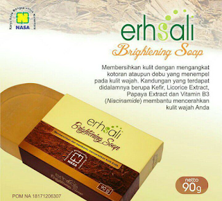 sabun erhsali brightening soap