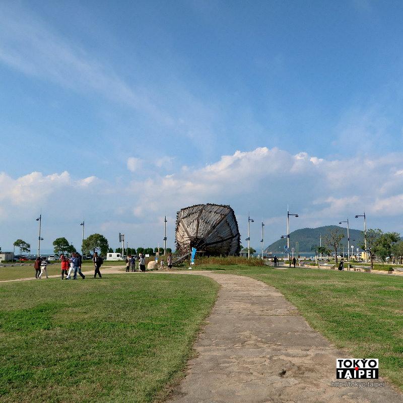 【高松港】充滿藝術氣息的熱鬧海港 出發跳島遊玩瀨戶內海
