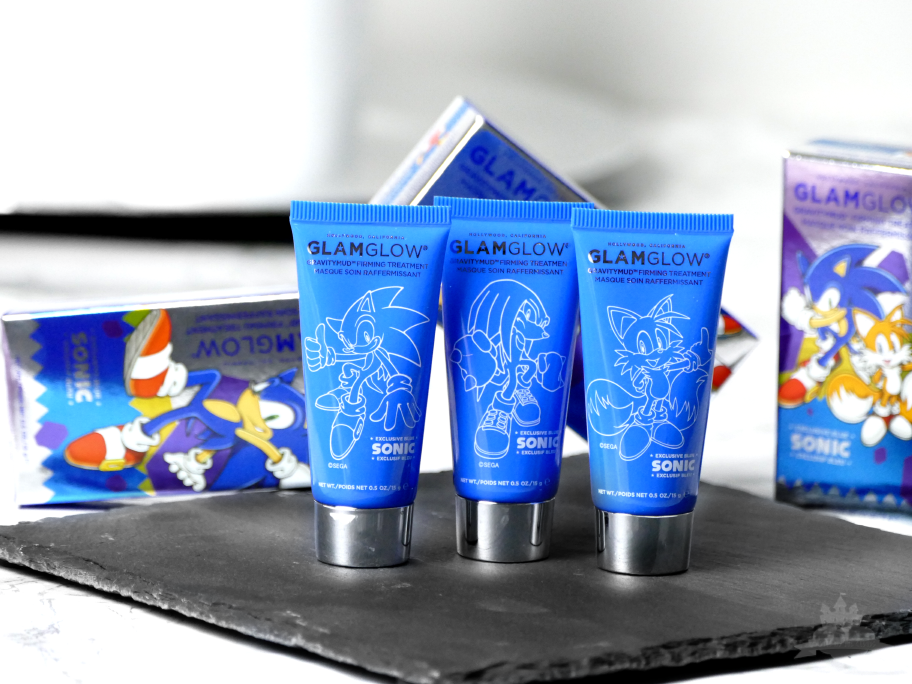 GlamGlow Gravity Mud Firming Treatment Sonic Edition blau