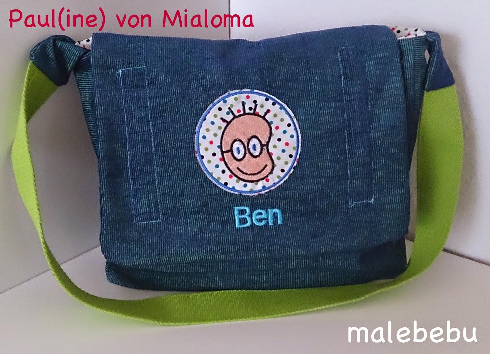 malebebu paul ine freebook kindergartentasche. Black Bedroom Furniture Sets. Home Design Ideas