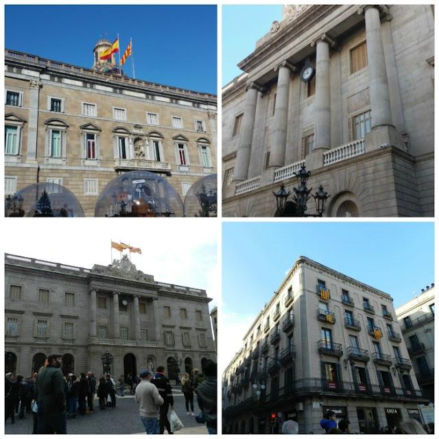 Free Walking Tour em Barcelona - Plaça Sant Jaume