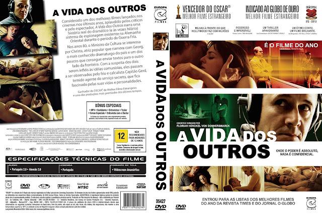 Capa DVD A Vida dos Outros