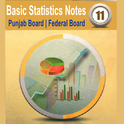 1st Year Class Basic Statistics Notes Free Download - Easy MCQs