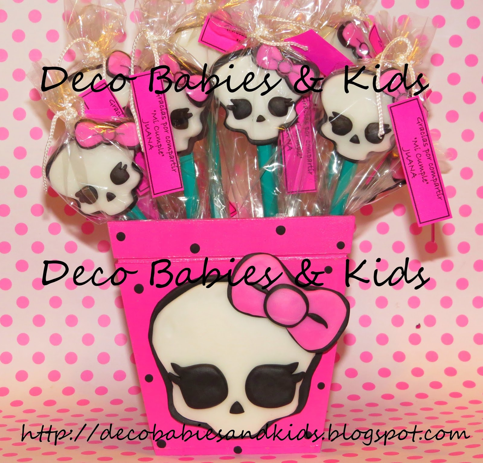 Deco Babies Amp Kids Lapices Decorados Monster High