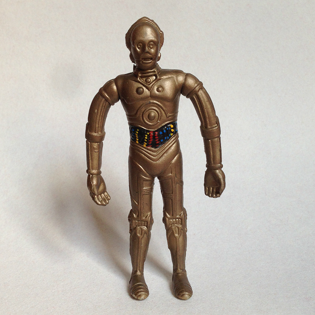 Just Toys Inc. ny. lic. 1993 C3PO Star Wars