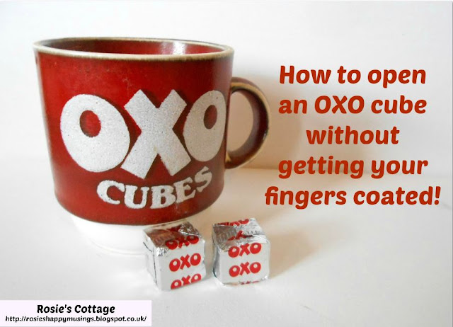 How To Open An OXO Cube Without Getting Your Fingers Coated