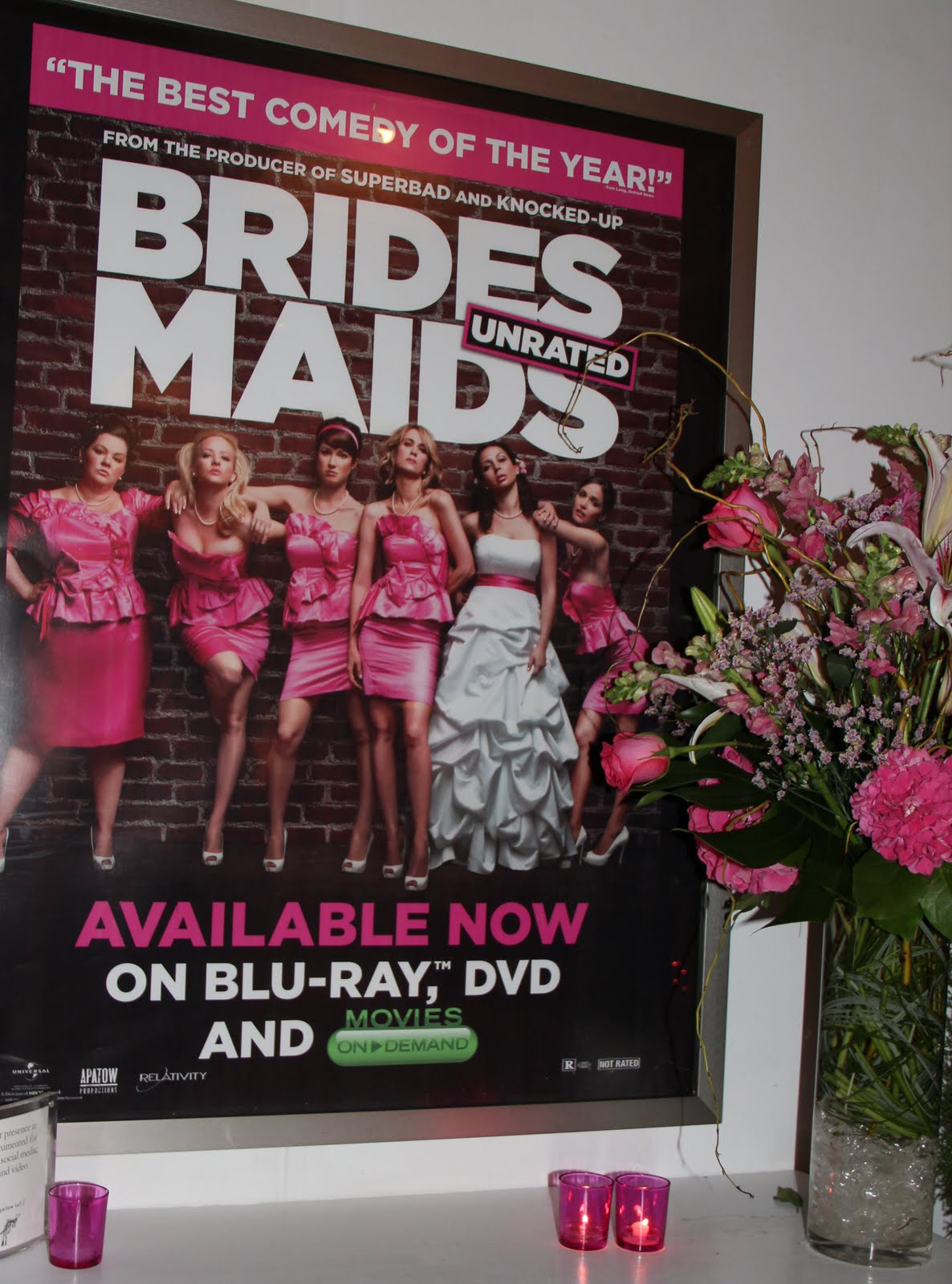 National Bridesmaid S Day Celebration And Release Of Bridesmaids On Movies Demand Dvd Blu Ray