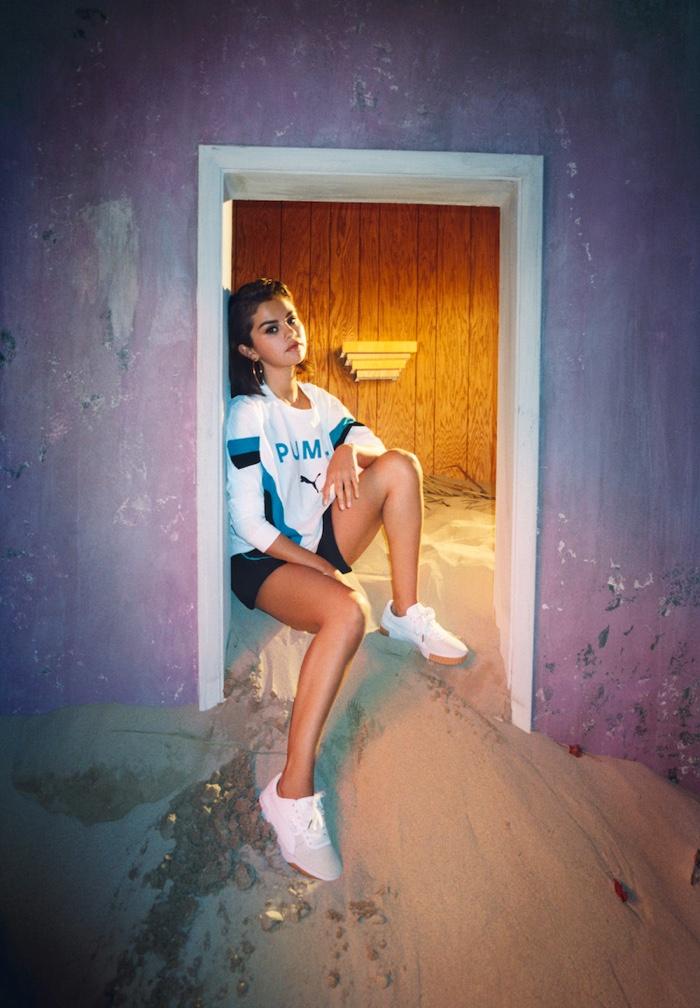 Selena Gomez fronts PUMA Cali Exotic campaign