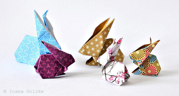 Miss Red Fox: Origami: Die Hasen Sind Los