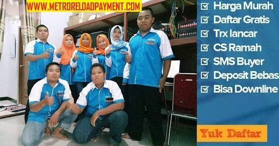 Metro Reload Pulsa Murah Paling Murah se Indonesia, 500 Harga 4500
