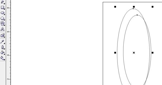 Tutorial Corel Draw: Cara membuat logo telkomsel di corel draw