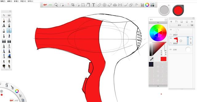 Sketchbook Pro 快速設計表現技法教學3
