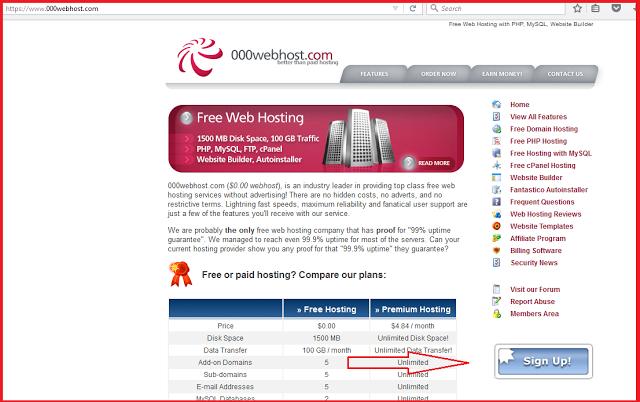 Hébergement d'une page de phishing