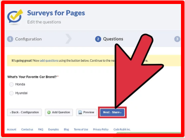 Facebook Survey Questions