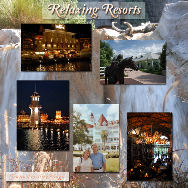 Relaxing Disney Resorts