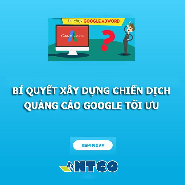 chay quang cao google adword