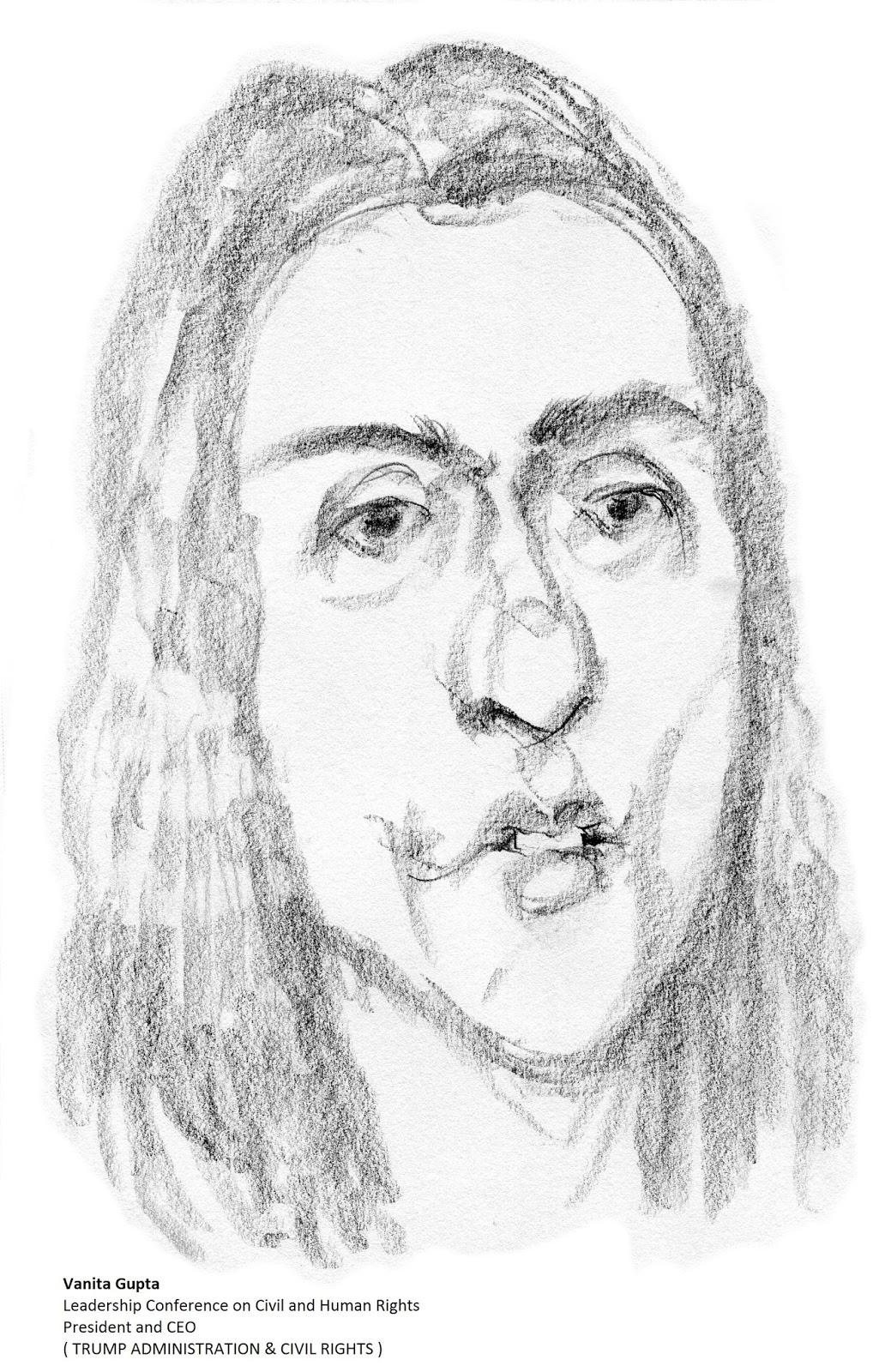 daily drawings: Vanita Gupta