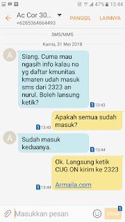 Testimoni CUG Telkomsel Kartu Pasangan Kartu Komunitas Kartu Soulmate Kartu Couple 28 Mei 2018