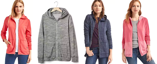 Gap French Terry Zip Hoodie $15-$18 (reg $50)