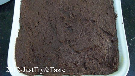 Resep Eggless Tofu Chocolate Cake: