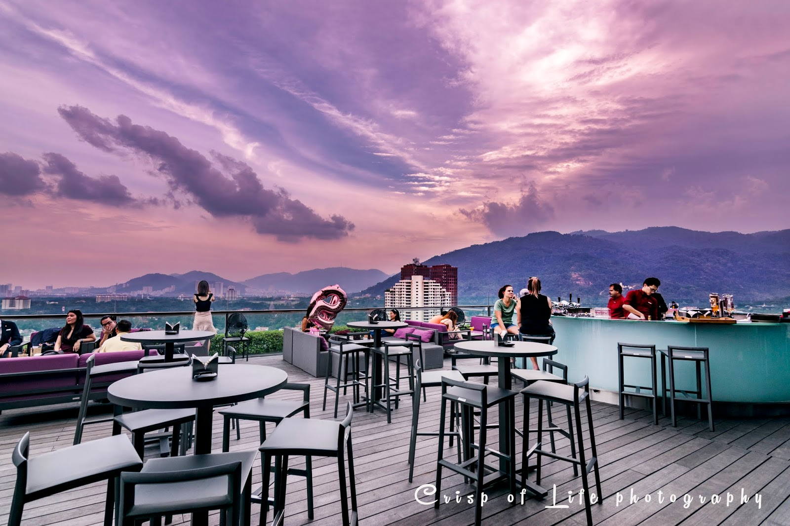 Gravity, the Rooftop Bar @ G Hotel Kelawai, Penang