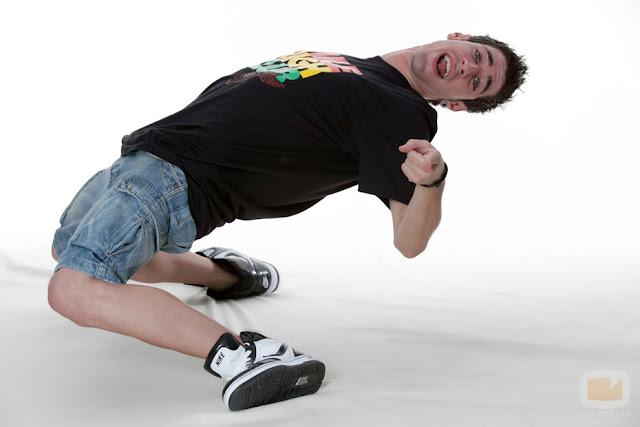 El bailarín sordo Sergio Ruiz en una imagen para Fama ¡a bailar!
