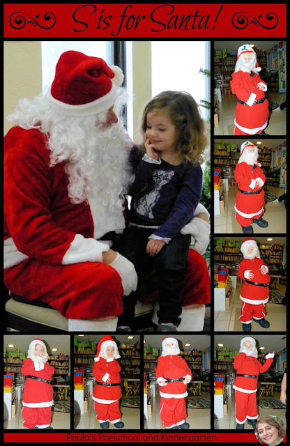 S is for Santa, by Paula's Preschool and Kindergarten