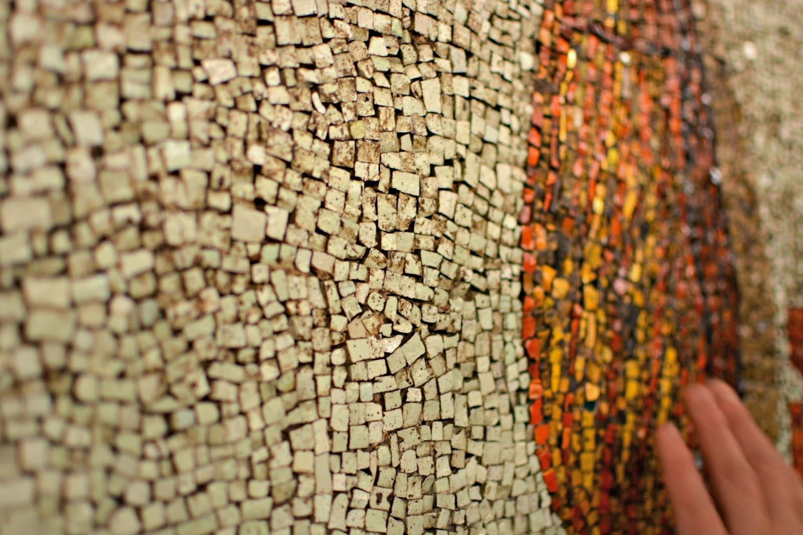 Mosaics in St Peter's Basilica Vatican City