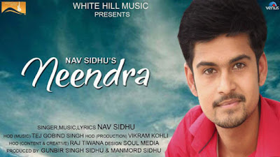 Neendra Lyrics - Nav Sidhu | Latest Punjabi Song 2017