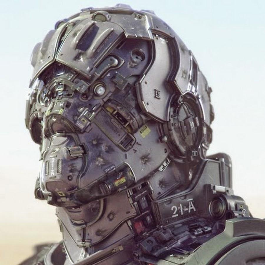 Stunning Sci Fi Military Cyborg Art