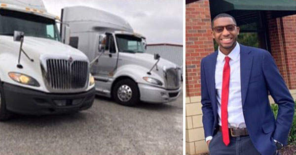 Jalen Uboh, founder and CEO of All American Freight