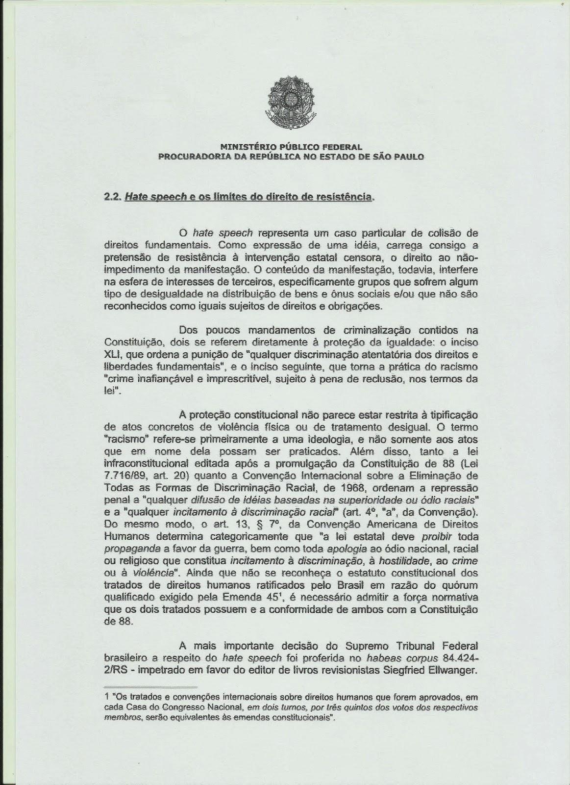 37f0c077b2 MINISTÉRIO PÚBLICO SE PRONUNCIA SOBRE O LIVRO