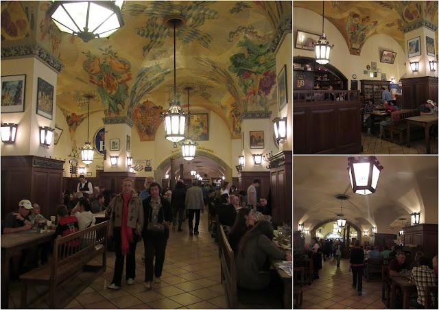 A cervejaria Hofbräuhaus O que ver em Munique Alemanha