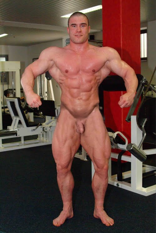 With you Body building nude male excellent message