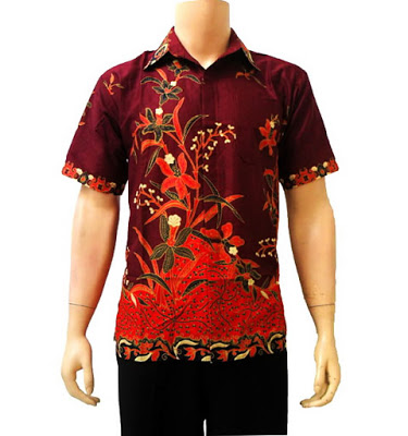 Baju Batik Modern Pekalongan Solo Untuk Wanita Pria Trend Terbaru ... 95b8a9722f
