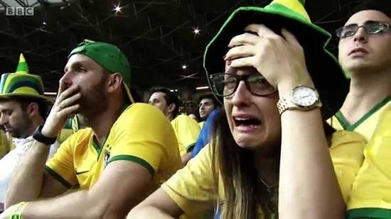 Người hâm mộ Brazil thực sự buồn lòng sau những màn thua liên tục